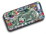 Koolart STICKERBOMB STYLE Design For Retro Nissan Skyline R32 Hard Case Cover Fits Apple iPhone 4 & 4s